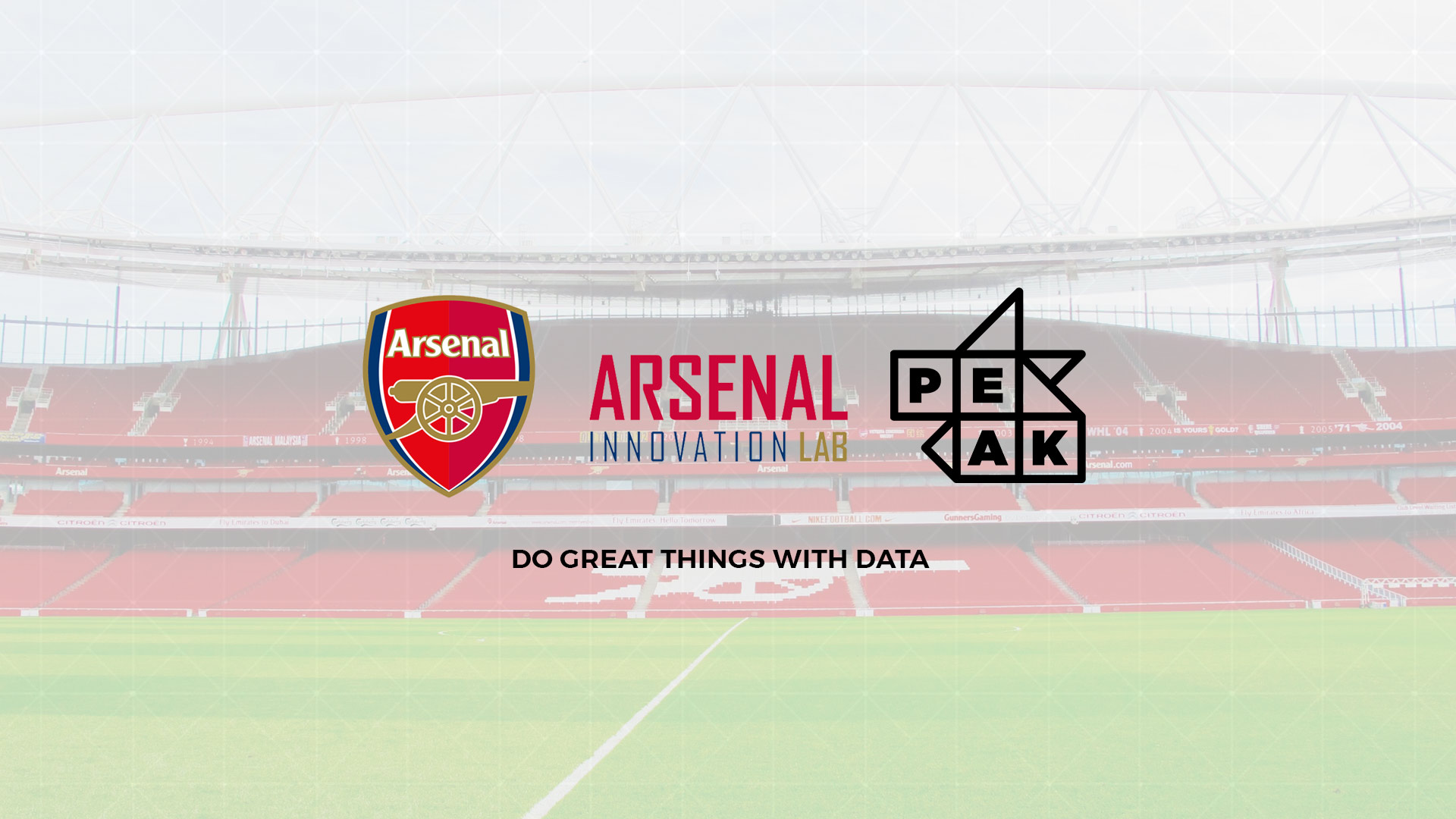 Peak works with Arsenal FC on new programme to drive innovation